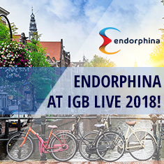 Endorphina at iGB Live 2018!