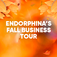 Autumn 2019 is taking Endorphina around the world!