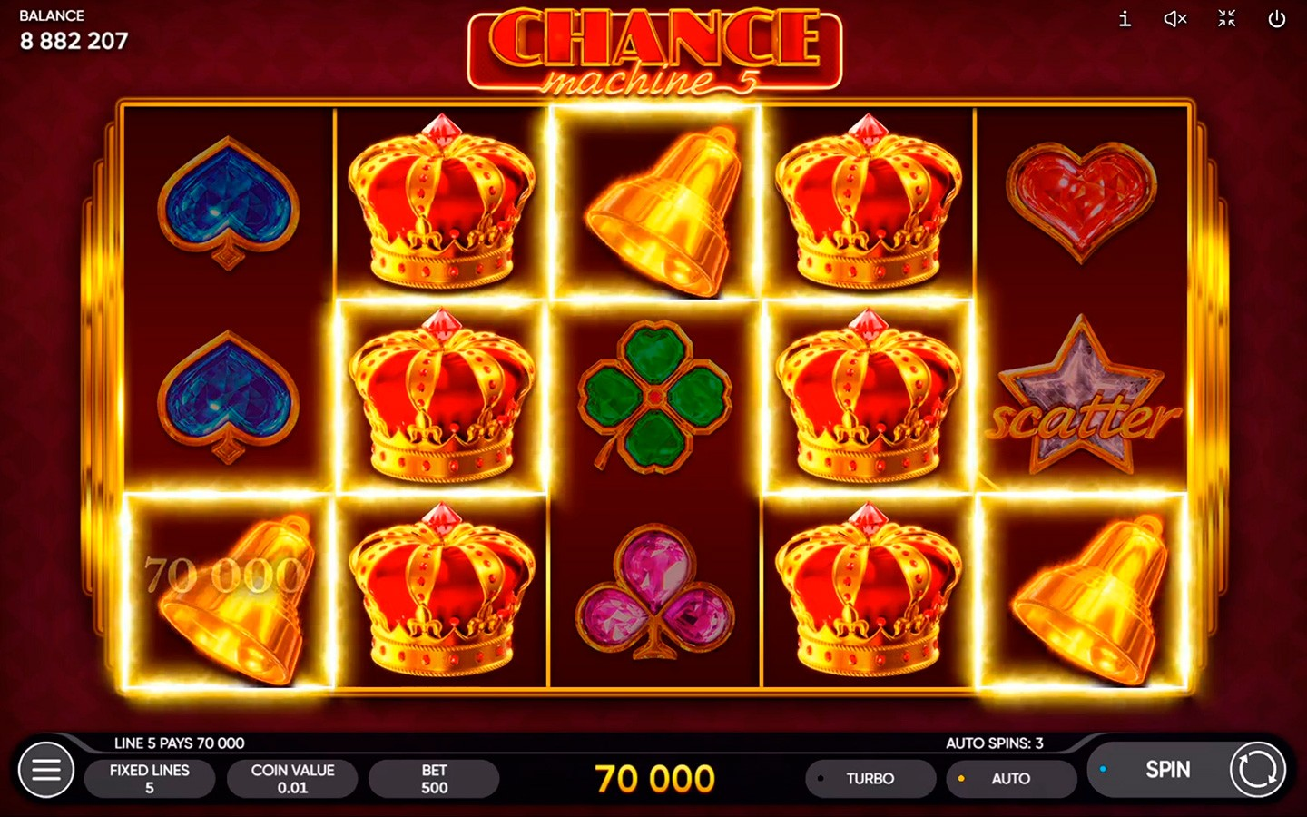 BEST CASINO DEVELOPER | Chance Machine 5 slot is out!