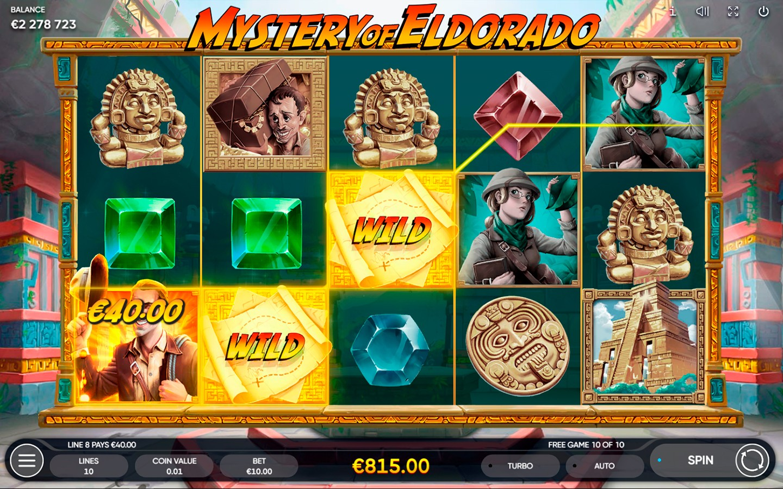 TOP ADVENTURE SLOTS 2021 | Play MYSTERY OF ELDORADO SLOT online!