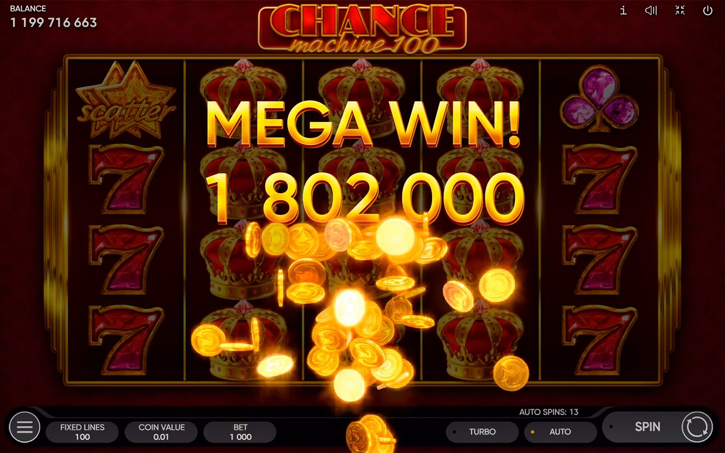 BEST CLASSIC CASINO GAMES | Try CHANCE MACHINE 100 SLOT now!