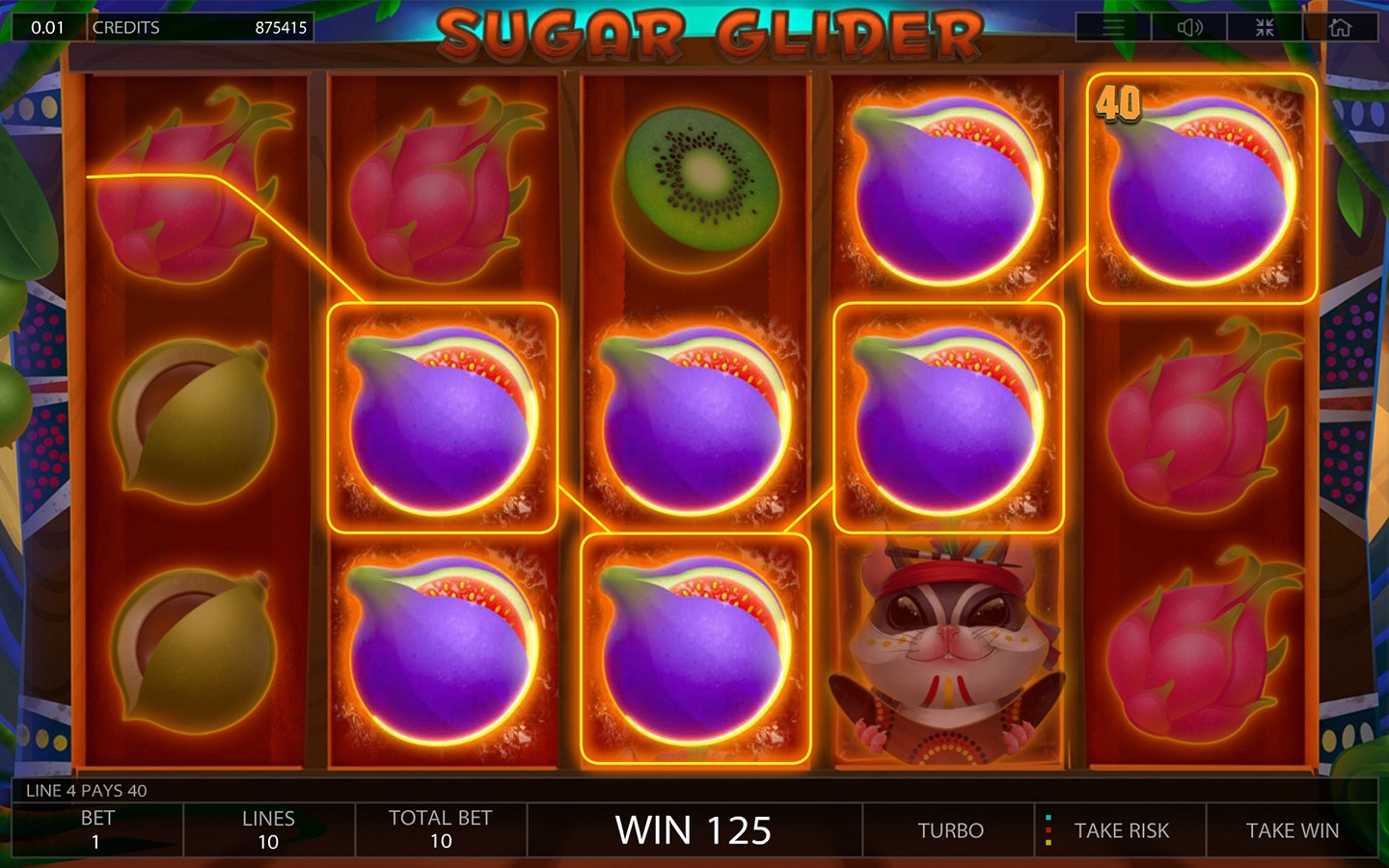 Spiele Sugar Glider - Video Slots Online