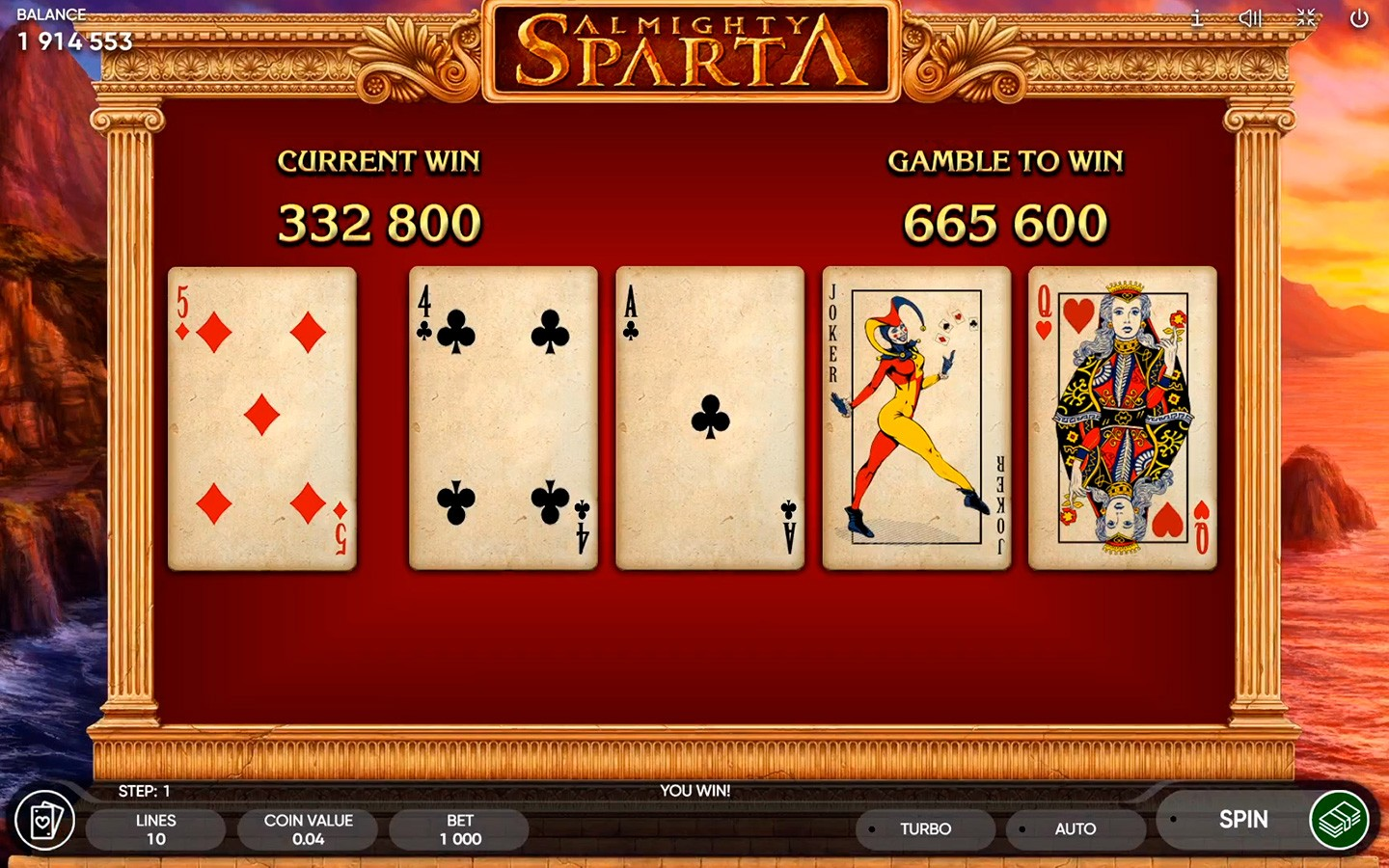 TOP SPARTA SLOTS OF 2020 | Try ALMIGHTY SPARTA SLOT now