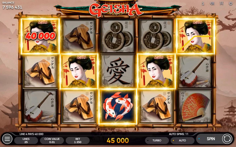 Geisha Slot Machine