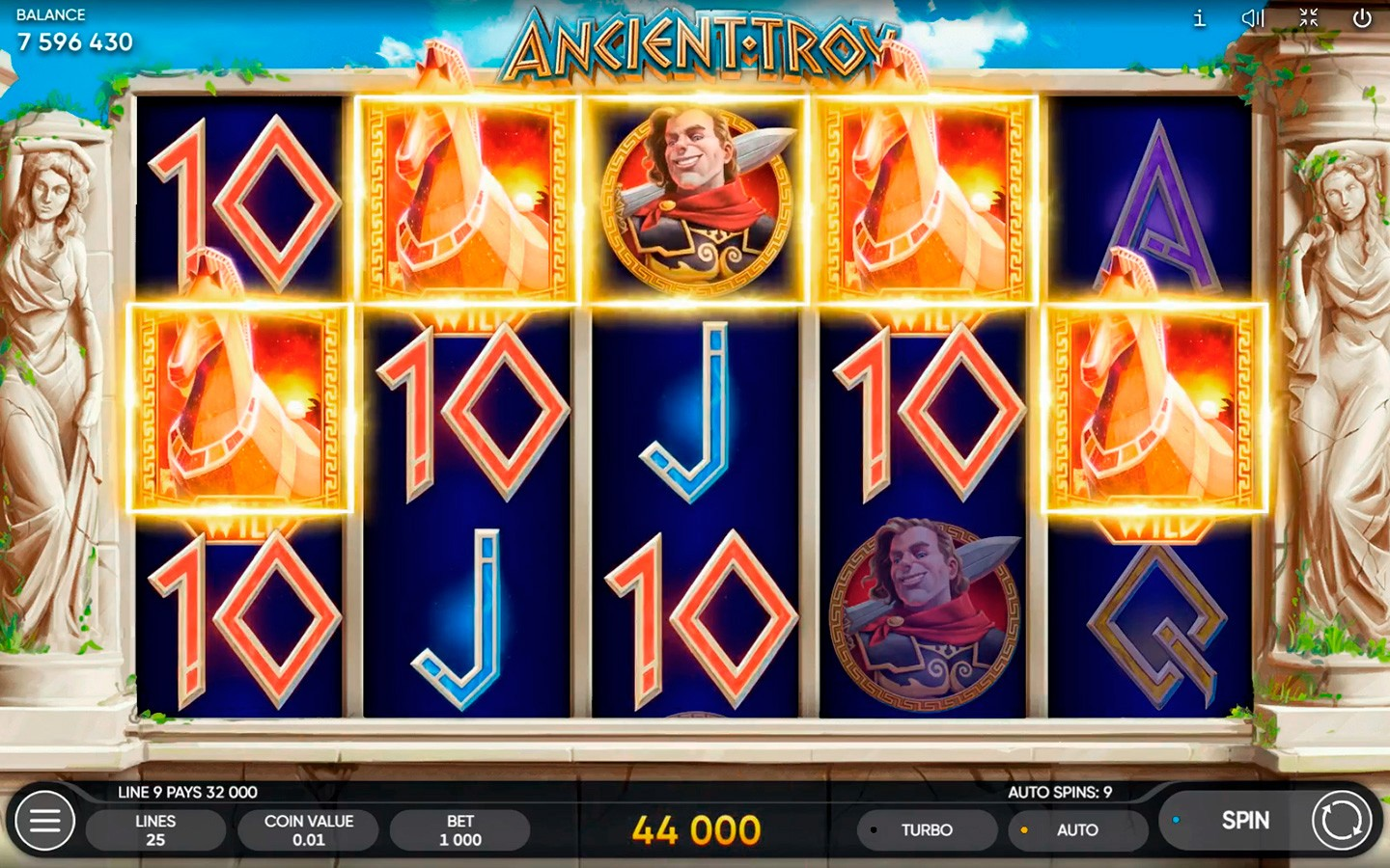 BEST ANCIENT GREEK SLOTS | Try ANCIENT TROY SLOT now!