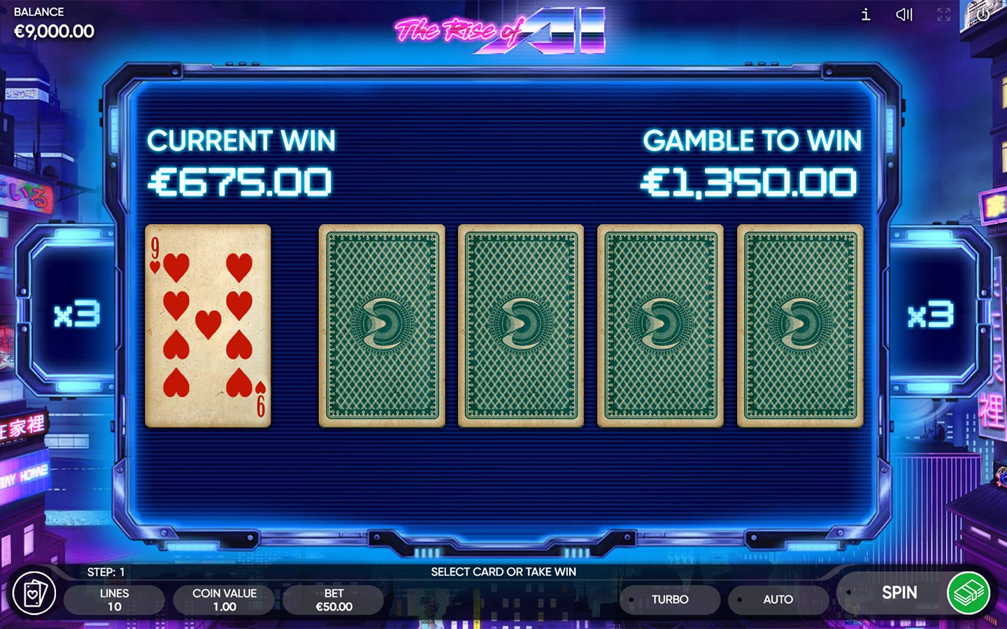 Top Futuristic Slots | Play The Rise of AI slot now!