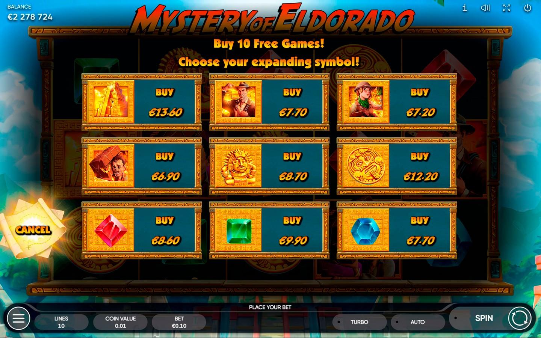 TOP ADVENTURE SLOTS 2021   Play MYSTERY OF ELDORADO SLOT online!