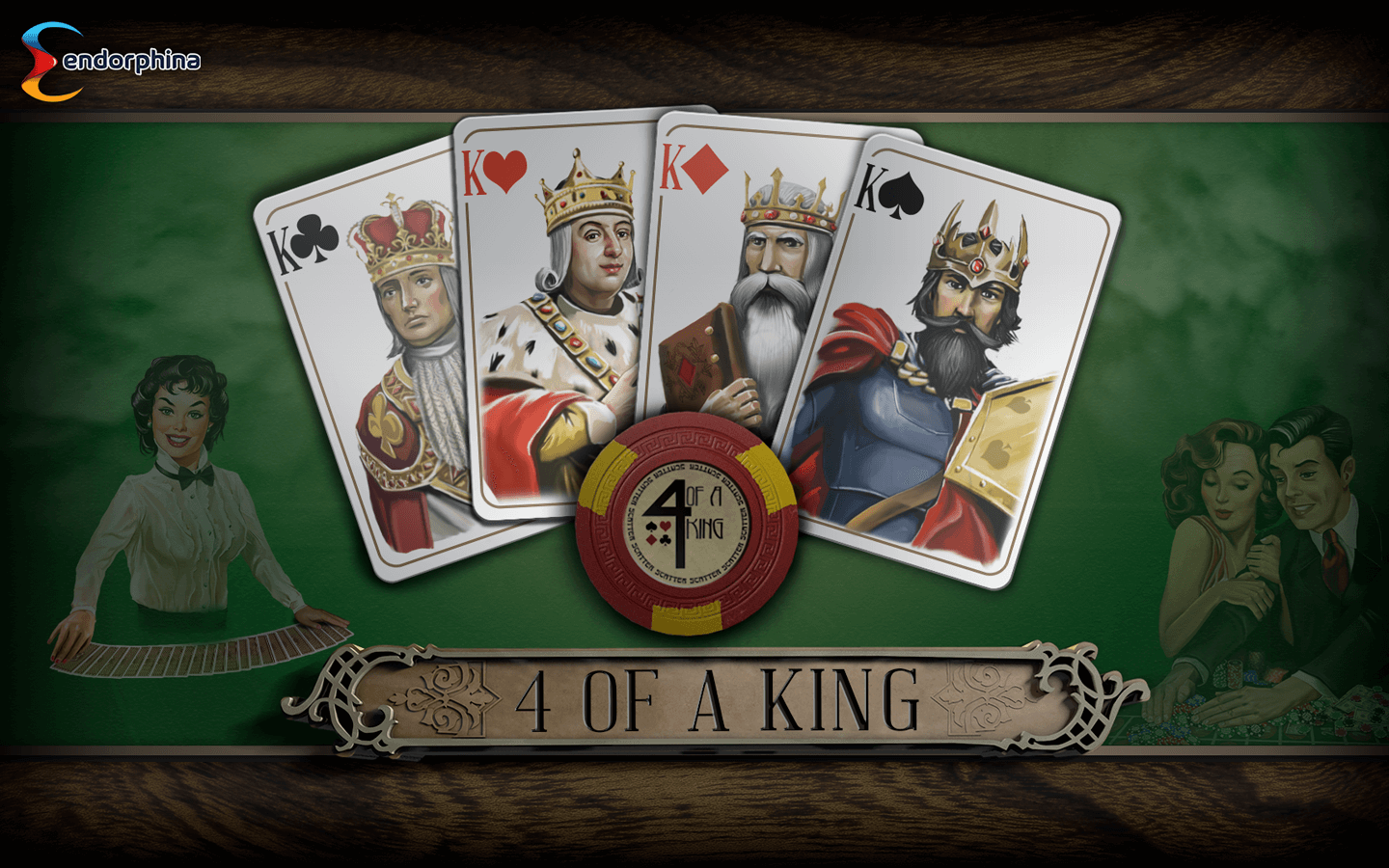 4 of a King Slot - Endorphina Slots Game