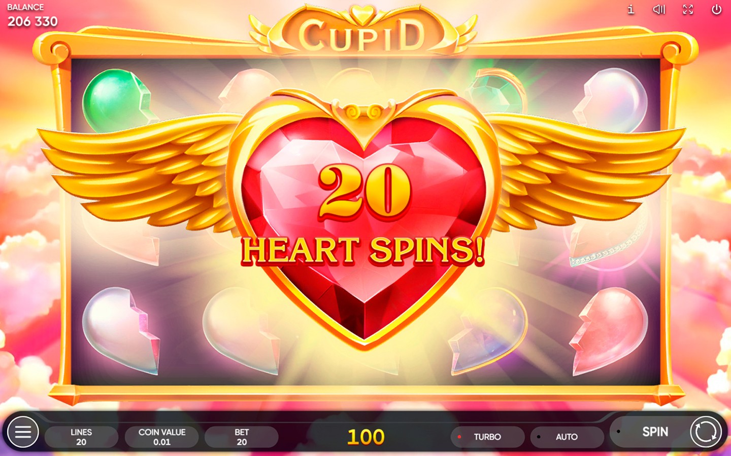 CASINO GAME DEVELOPERS | Play Cupid slot now!