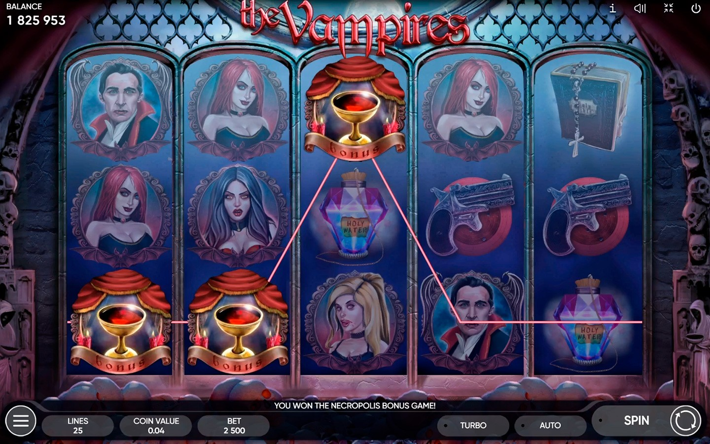 BEST HORROR SLOTS | Try THE VAMPIRES SLOT now
