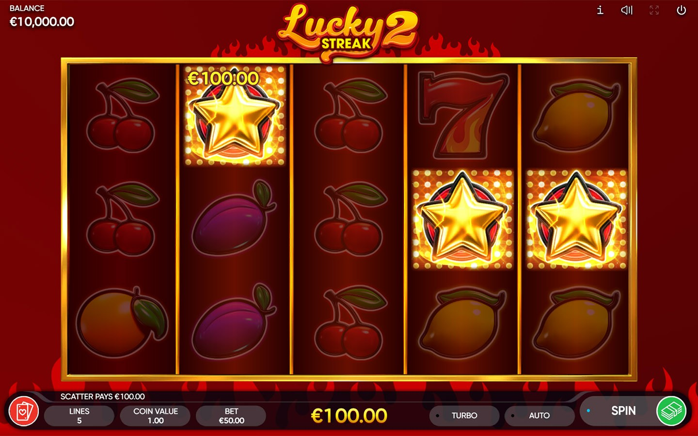 PREMIUM FRUIT SLOTS OF 2020 | Enjoy Lucky Streak 2 slot