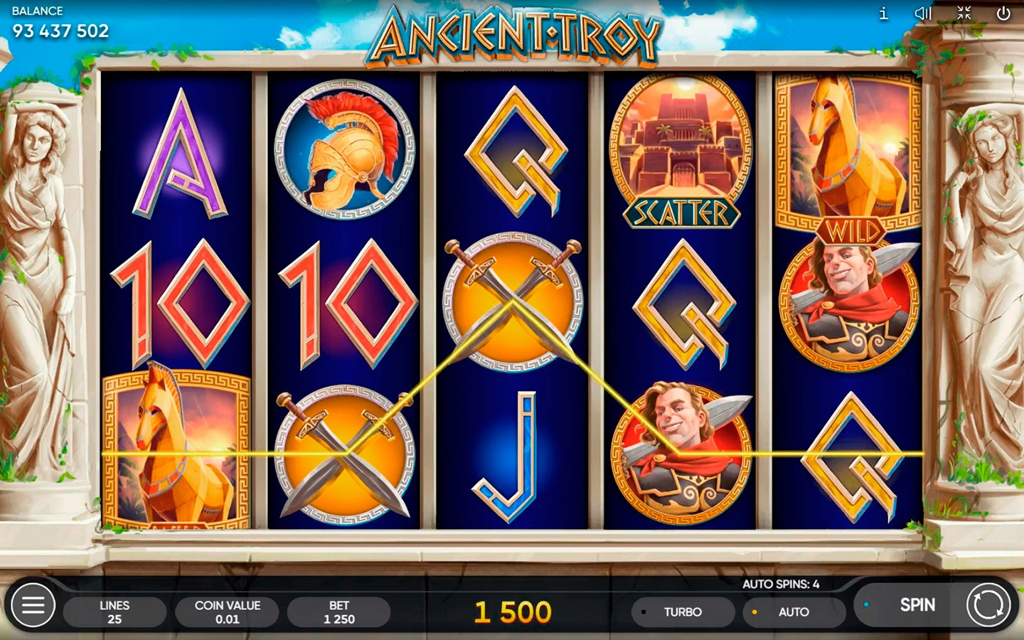 Age Of Troy Slot Free