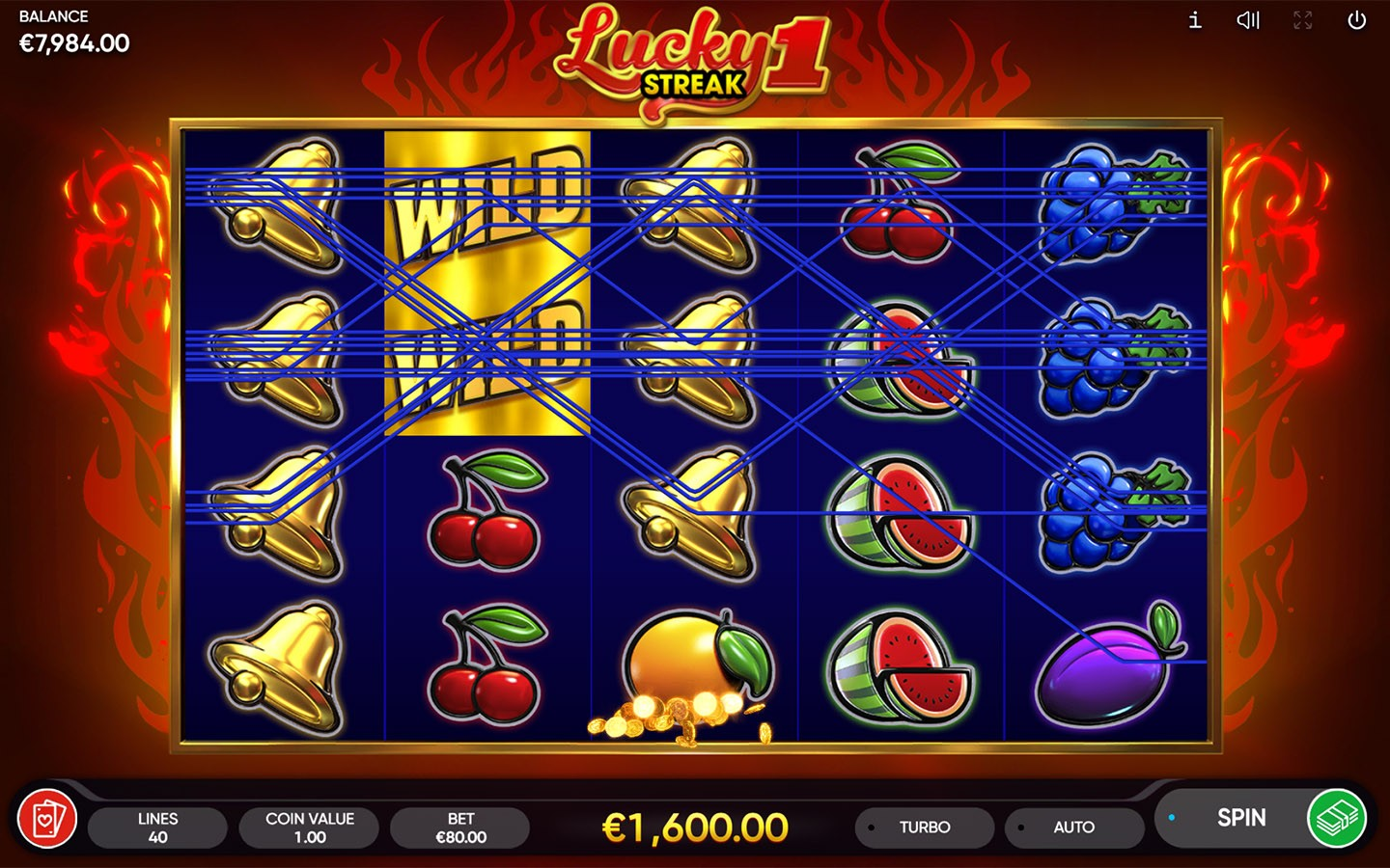 TOP FRUIT SLOTS ONLINE | Try LUCKY STREAK 1 SLOT now!