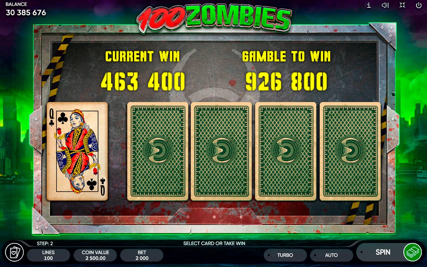 BEST HORROR SLOTS 2020 | Try 100 Zombies game!