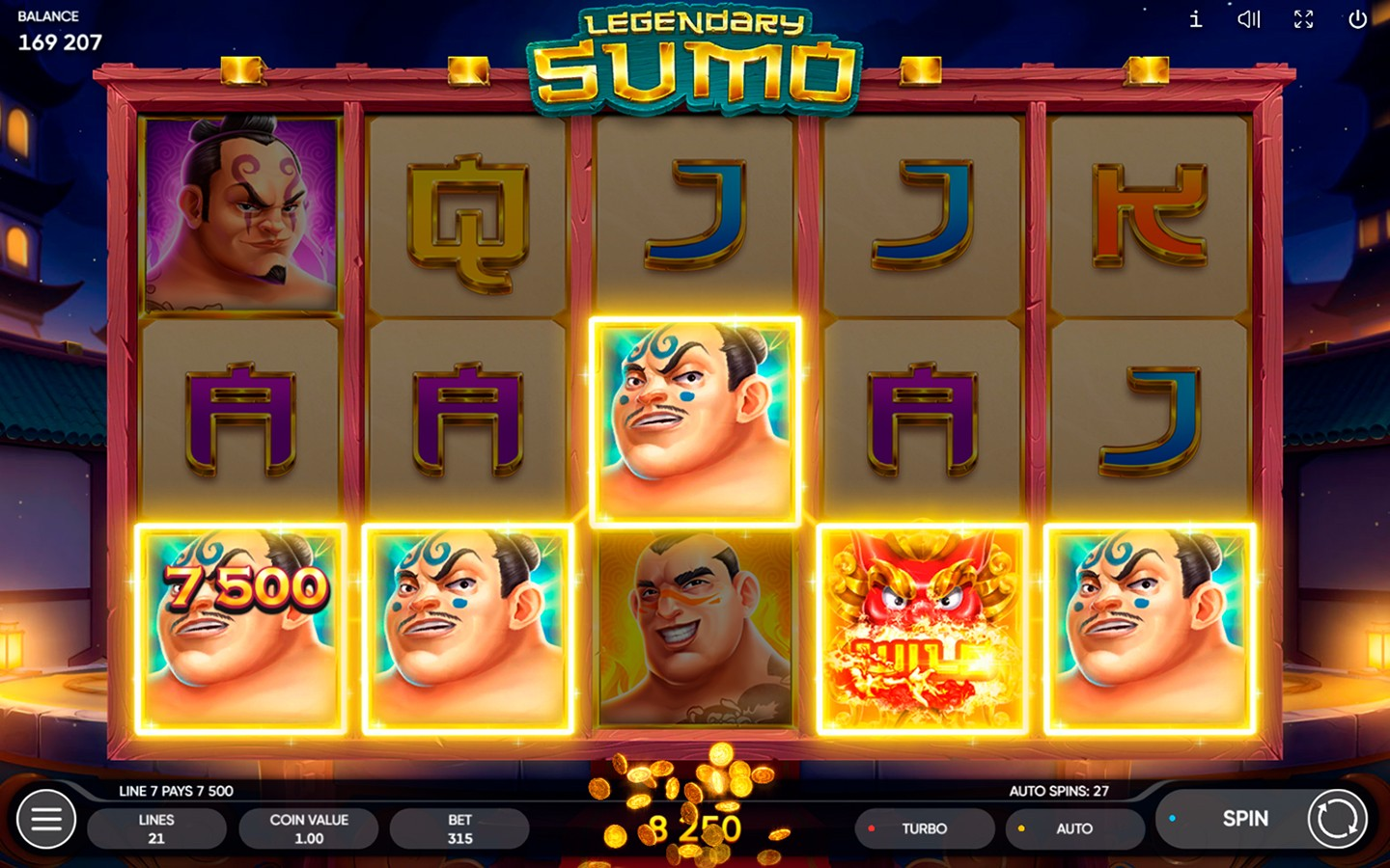 CASINO SLOT PROVIDER | Legendary Sumo slot is out!