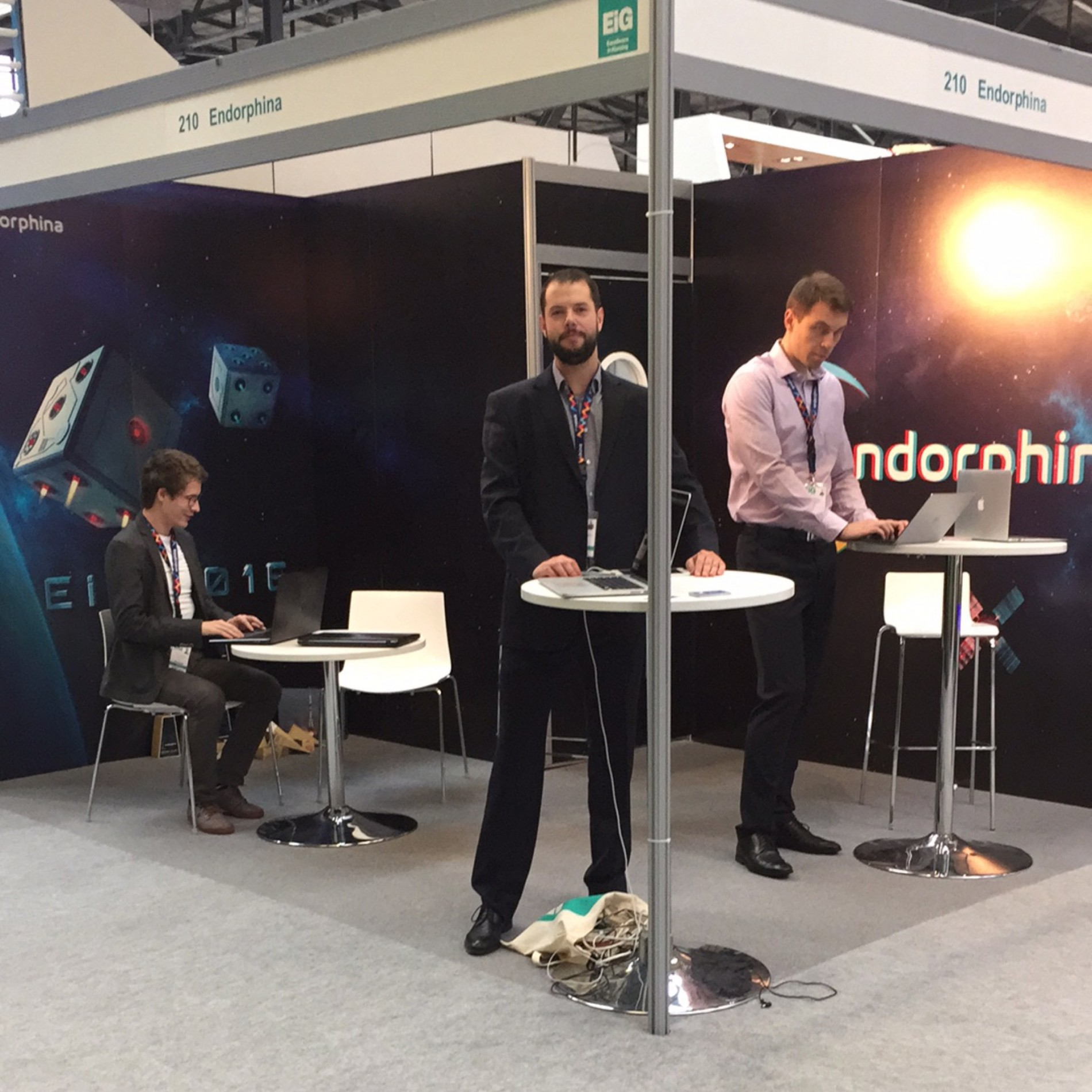 Endorphina at EiG 2016 | ONLINE GAMBLING PROVIDER