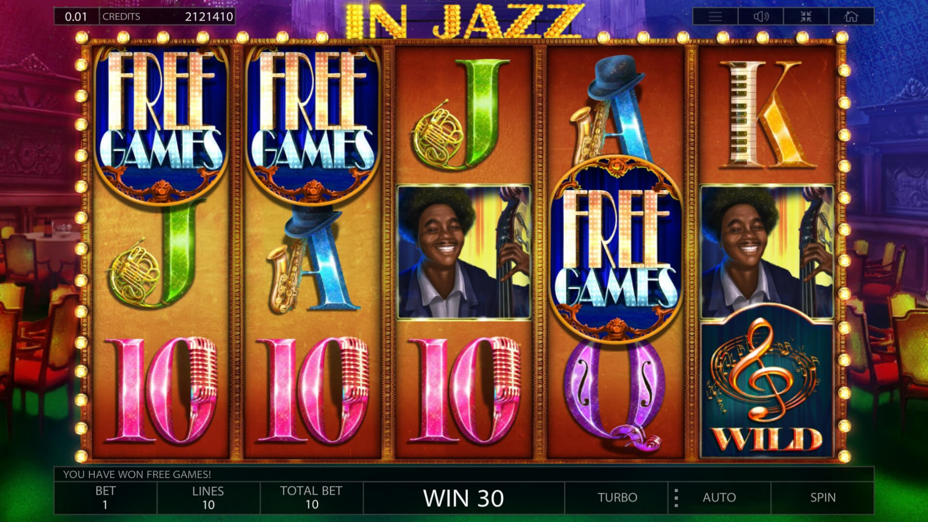 BEST CLASSIC SLOTS ONLINE | Play IN JAZZ SLOT now!