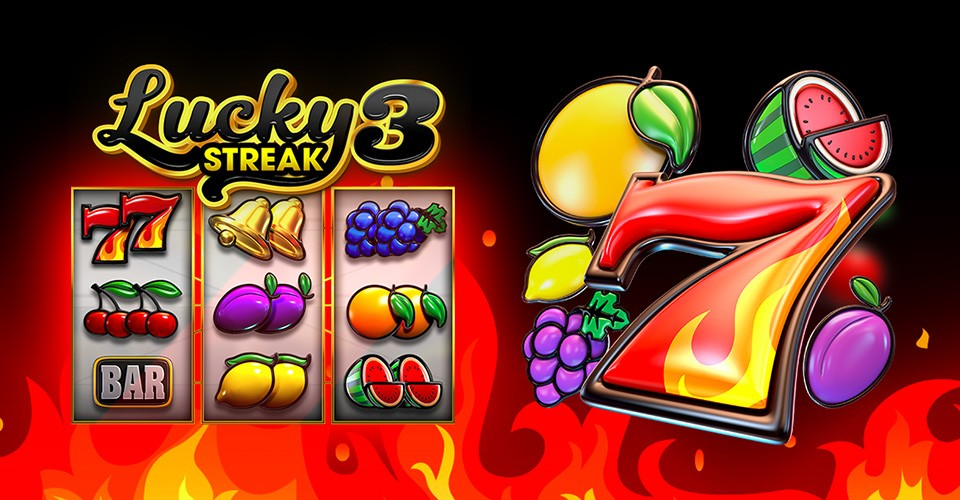 Lucky Streak 3 is the New Fruit-Themed Slot from Endorphina