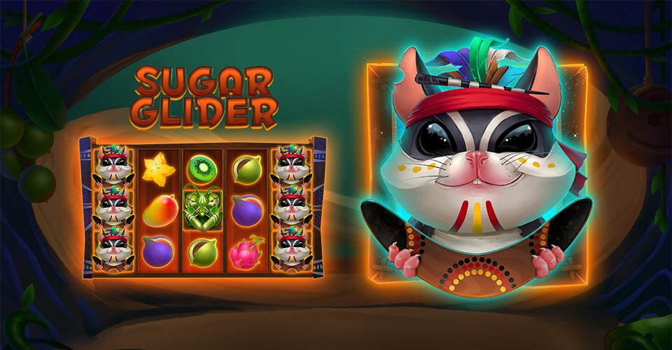 New Slots Game 2019: Sugar Glider - our new hero! New online slot game