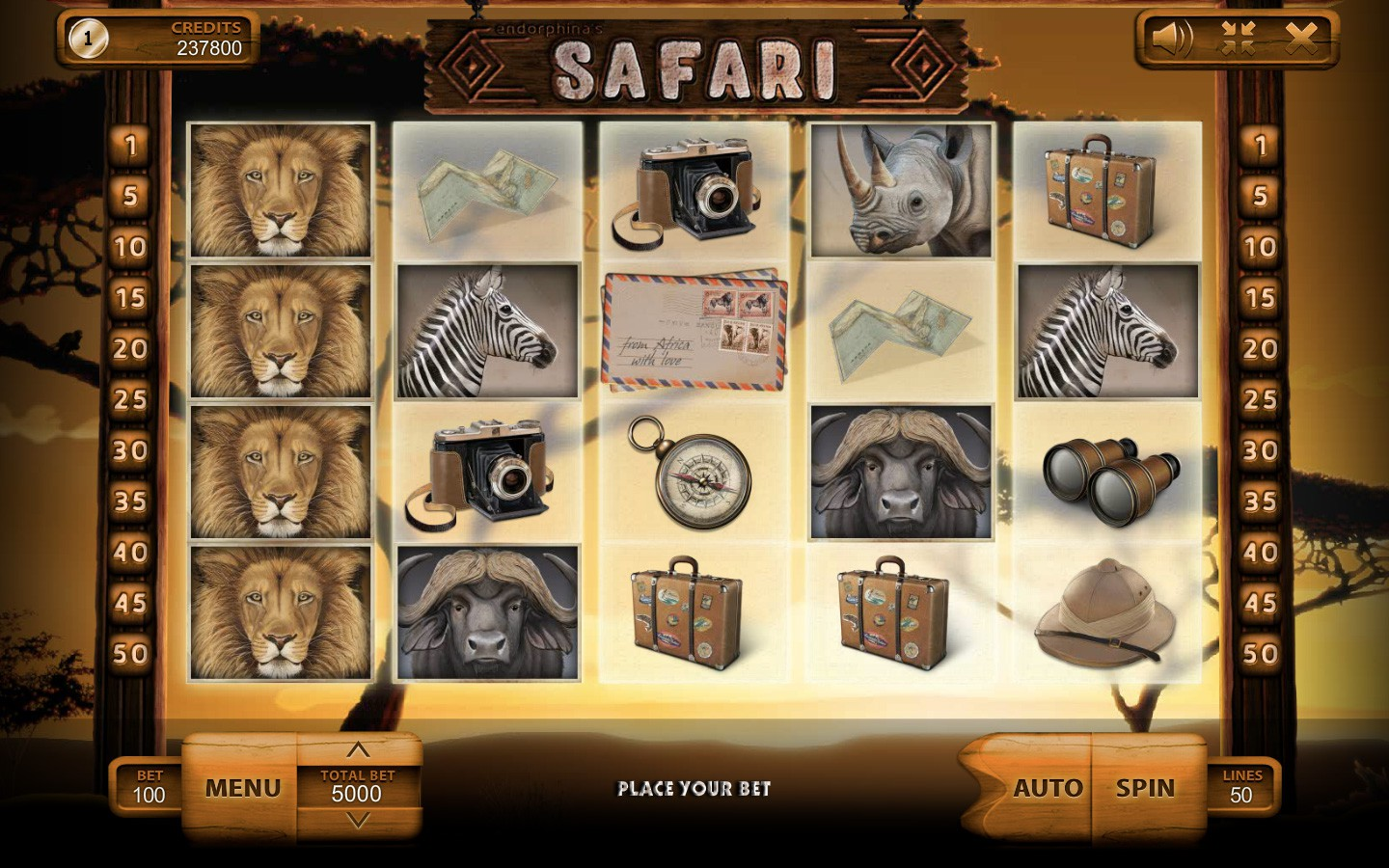 slot game safari
