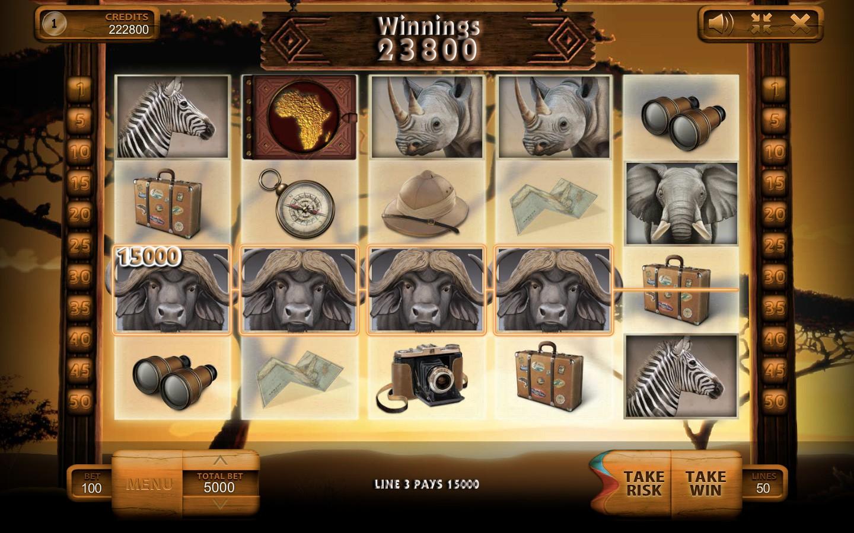 Super Safari Online Slot Game - Video Reviews