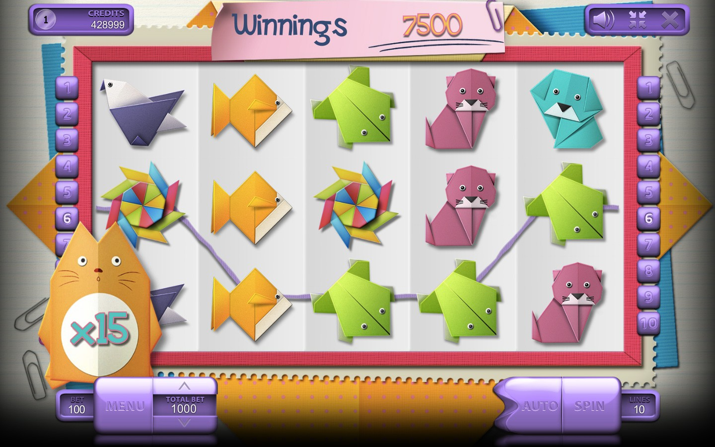 Origami Slot Game | Online Casino Game