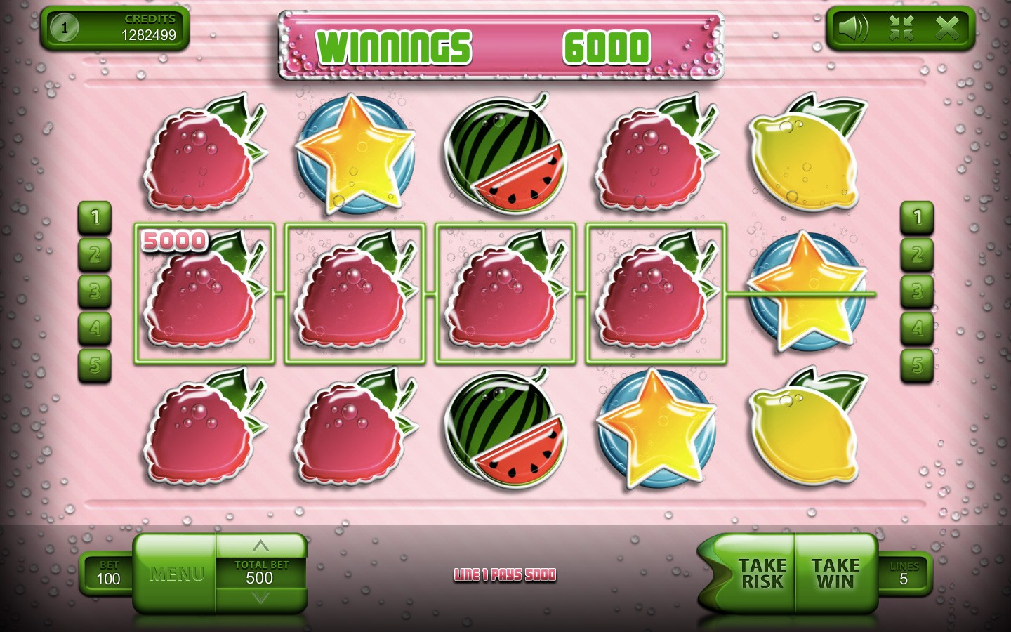 Play Sparkling Fresh slot by Endorphina!
