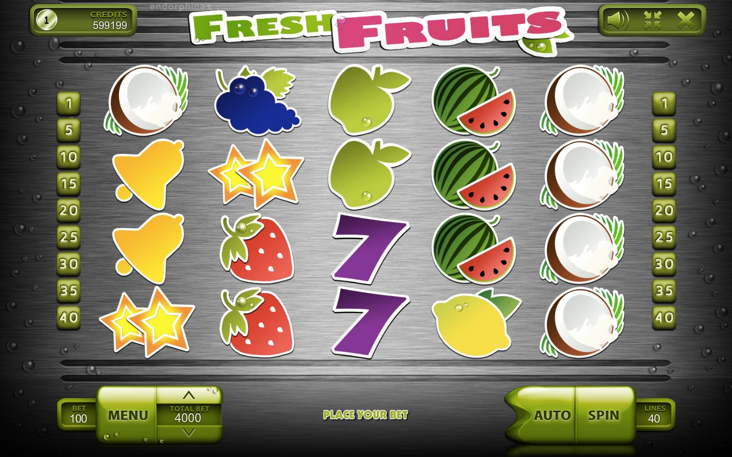 Fresh Fruits Slot - Try it now With No Register