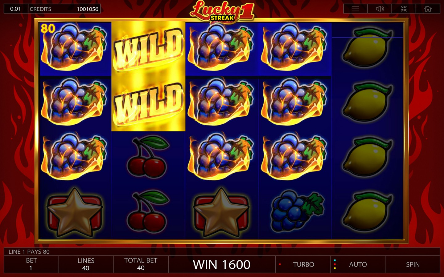 Lucky Streak 1 | Online Casino Slot Game by Endorphina | Try it now!