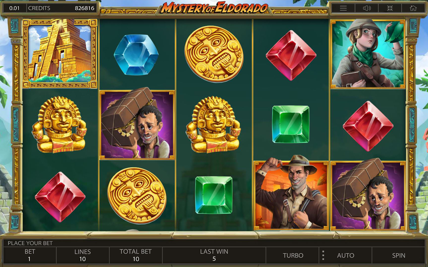 TOP ADVENTURE SLOTS 2020 | Play MYSTERY OF ELDORADO SLOT online!