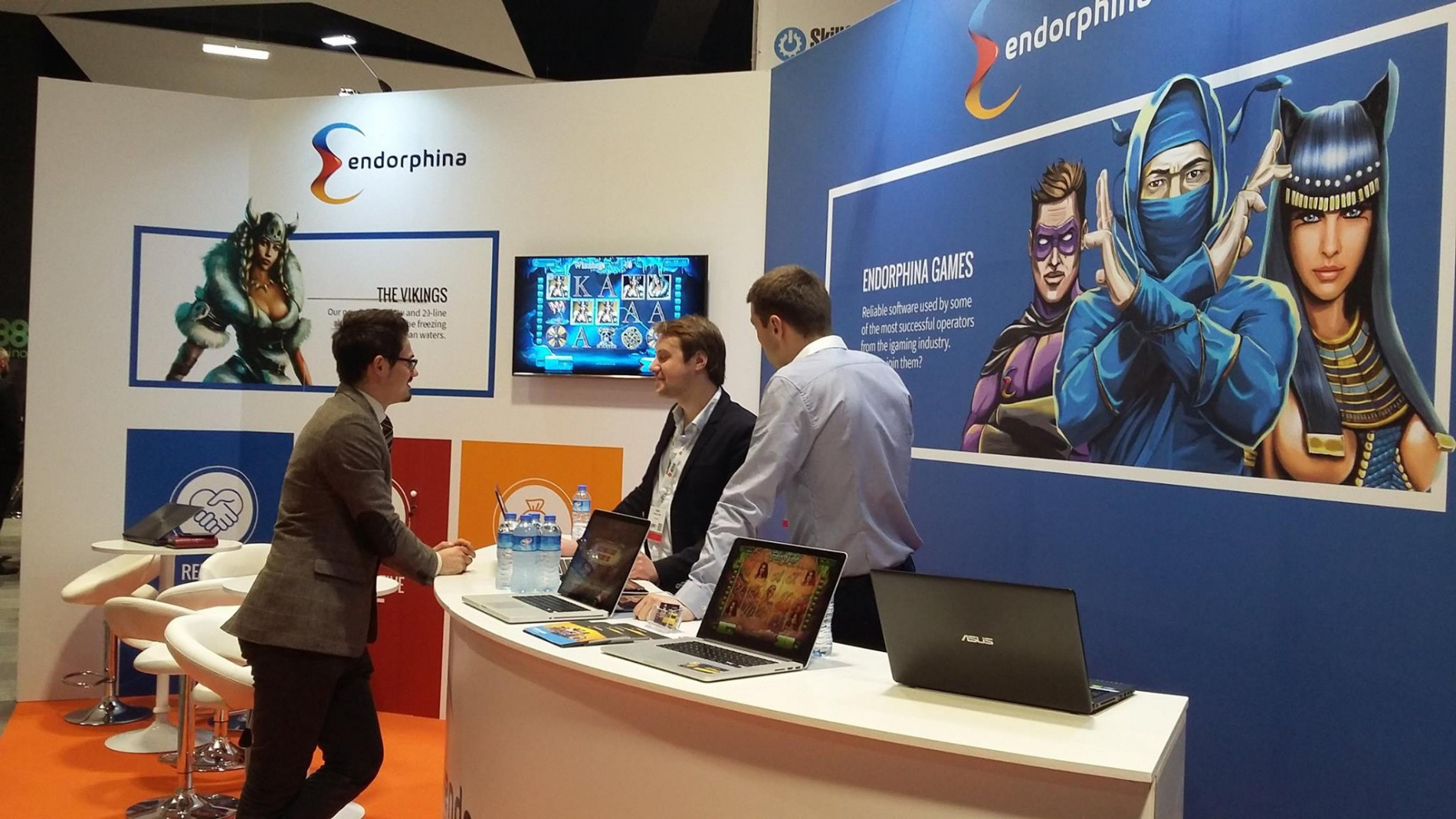 Endorphina at SiGMA 2015 | CASINO PLATFORM PROVIDER
